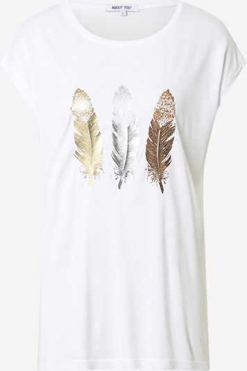 ABOUT YOU Shirt 'Carlene' in White, Item view