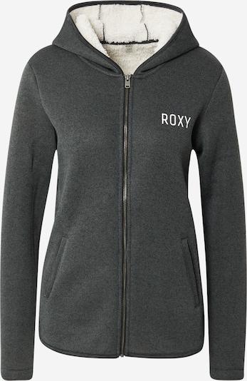 Jachetă  fleece funcțională 'SLOPES FEVER' ROXY pe gri închis / alb, Vizualizare produs