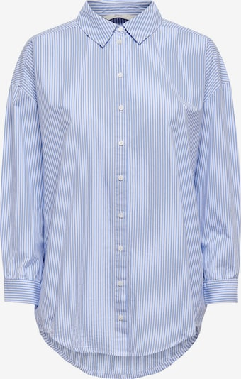ONLY Bluza | modra / bela barva, Prikaz izdelka