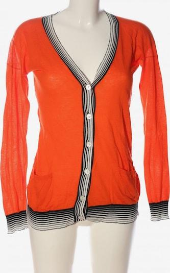 DEAR CASHMERE Sweater & Cardigan in S in Light orange / Black / White, Item view