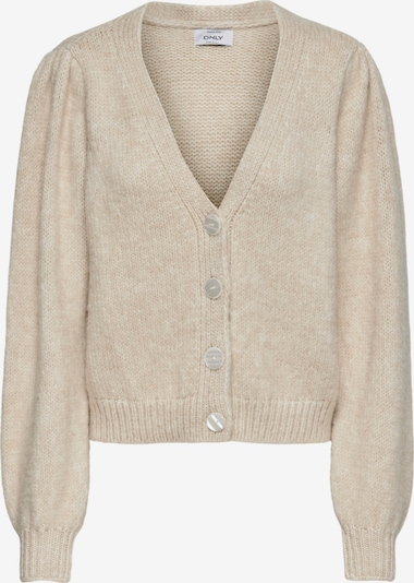 ONLY Strickjacke 'Benin' in beige, Produktansicht