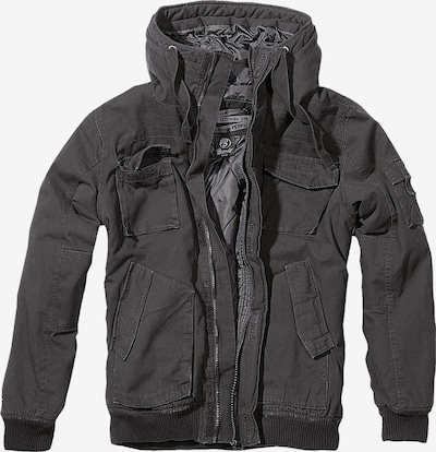 Brandit Tussenjas in de kleur Zwart, Productweergave