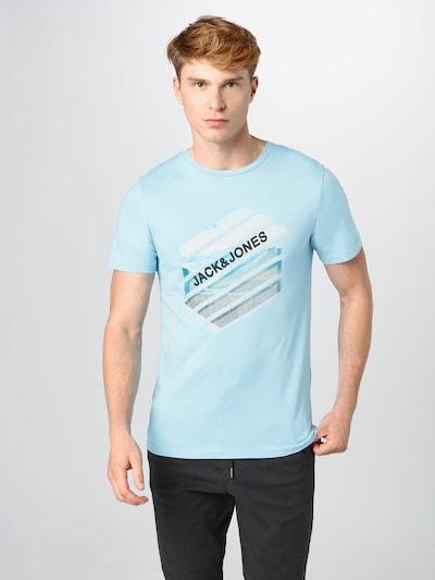 JACK & JONES Koszulka w kolorze niebieskim: Widok z przodu