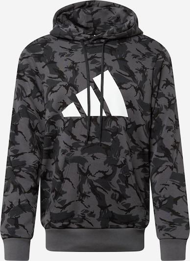 ADIDAS PERFORMANCE Sportsweatshirt 'Future Icons' in de kleur Grijs / Antraciet, Productweergave