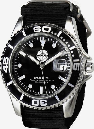LOGOSHIRT Armbanduhr in schwarz, Produktansicht