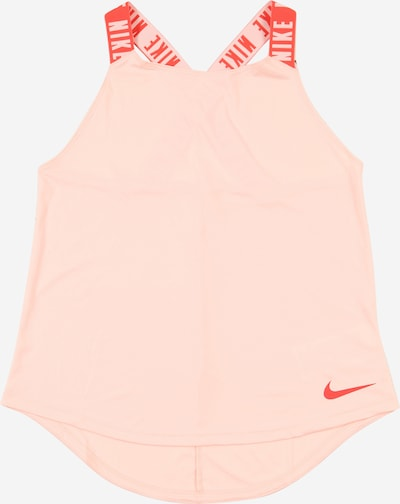 NIKE Sportovní top - lososová / tmavě oranžová / bílá, Produkt