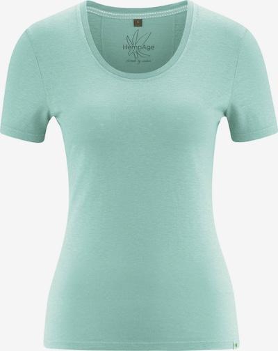 HempAge T-Shirt ' T-Shirt Jersey ' in türkis, Produktansicht
