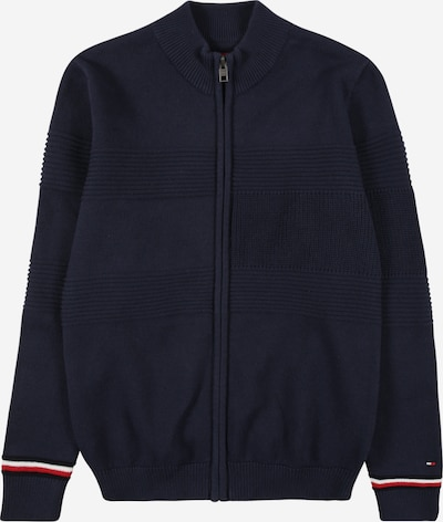 TOMMY HILFIGER Strickjacke in navy, Produktansicht