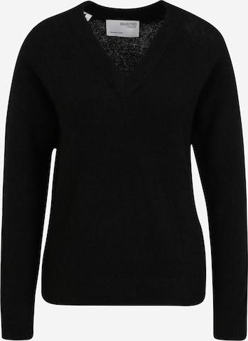 juoda Selected Femme Tall Megztinis 'LULU'