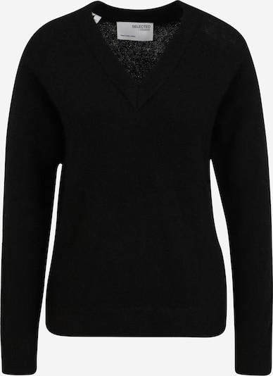 Pulover 'LULU' Selected Femme Tall pe negru, Vizualizare produs