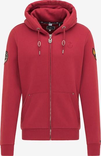 DreiMaster Maritim Bluza rozpinana w kolorze karminowo-czerwonym, Podgląd produktu