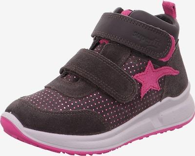 SUPERFIT Schuhe 'MERIDA' in braun / rosa, Produktansicht