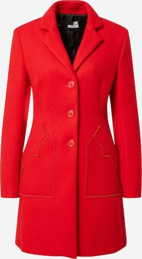 Palton de primăvară-toamnă Love Moschino pe roși aprins, Vizualizare produs