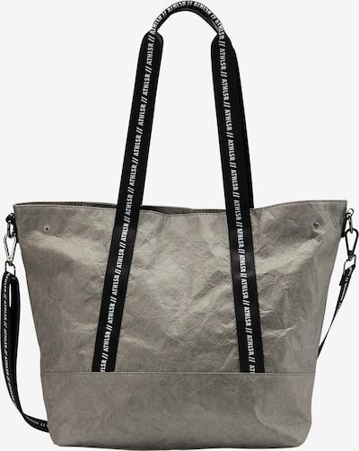 myMo ATHLSR Shopper in grau / schwarz, Produktansicht