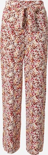 Pantaloni s.Oliver BLACK LABEL pe maro / maro închis / galben deschis / roșu / alb, Vizualizare produs
