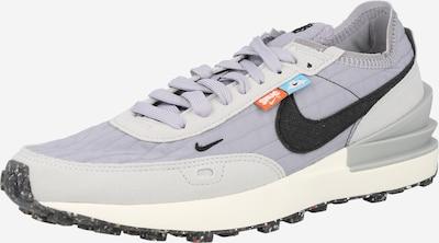 Nike Sportswear Platform trainers in Light grey / Mauve / Black, Item view