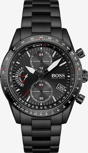 BOSS Casual Uhr in rot / schwarz / weiß, Produktansicht