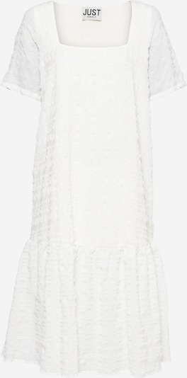 JUST FEMALE Kleid 'Soffia' in weiß, Produktansicht