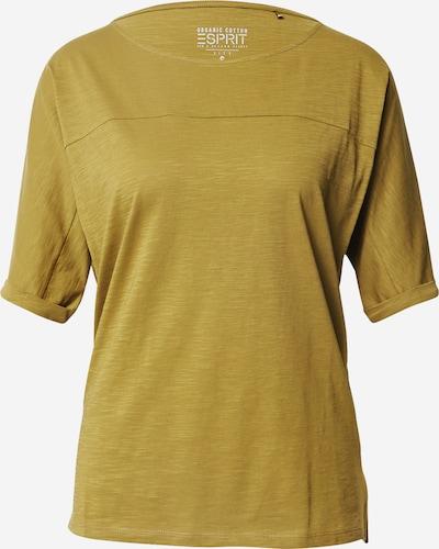 ESPRIT T-Shirt in oliv: Frontalansicht