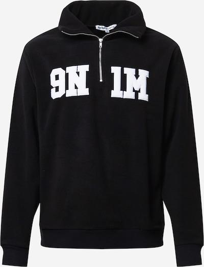 9N1M SENSE Sweatshirt in Black / White, Item view