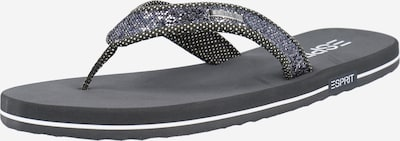 ESPRIT Žabky - námořnická modř / šedá / bílá, Produkt