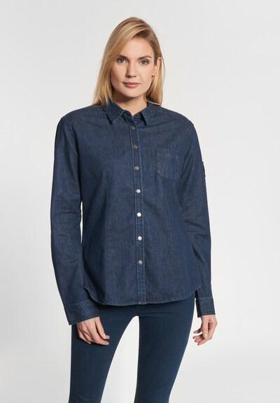 Shirts for Life Bluse 'Jane' in blue denim, Modelansicht