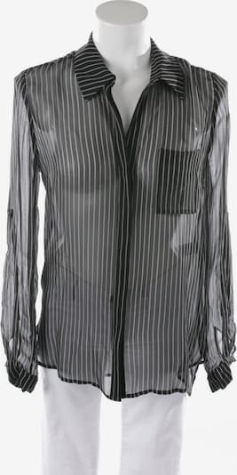 Diane von Furstenberg Seidenbluse in XS in schwarz / weiß, Produktansicht