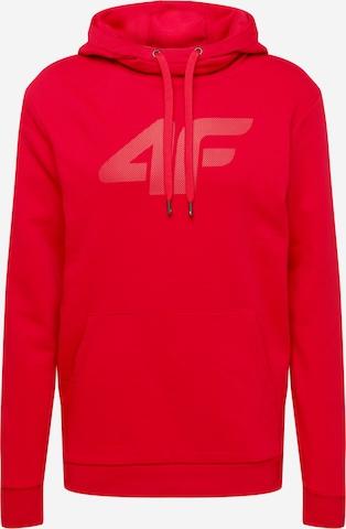 4F Sport sweatshirt i röd