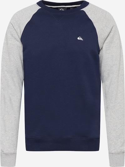 QUIKSILVER Sweatshirt 'EVERYDAY' in Navy / Grey, Item view