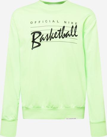 zaļš NIKE Sportiska tipa džemperis