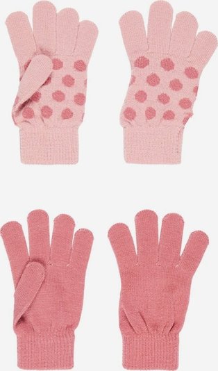 NAME IT Guantes 'Magic' en rosa claro / rojo pastel, Vista del producto