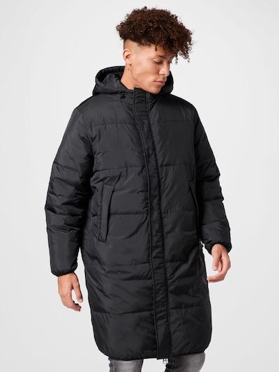 Brixtol Textiles Mantel 'Eli' in schwarz, Modelansicht