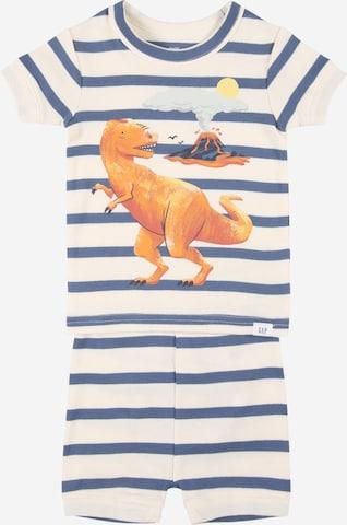 GAP Pyjamas 'DINO' i vit