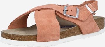 BIRKENSTOCK Sandale 'Tulum' in Orange