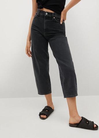Jeans 'Antonela' de la MANGO pe negru