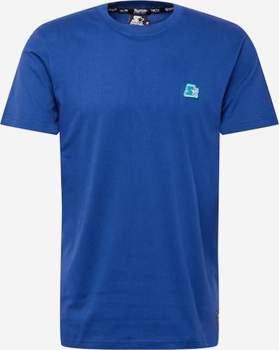 Tricou Starter Black Label pe albastru regal / gri deschis / verde jad, Vizualizare produs