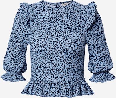 Miss Selfridge Shirt 'DITSY' in hellblau / schwarz, Produktansicht