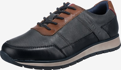 DANIEL HECHTER Sneaker 'Simoen' in marine / cognac, Produktansicht