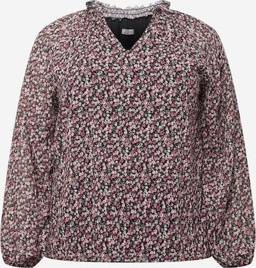 Z-One Bluse  'Lauren' in Schwarz