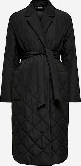 Only Maternity Mantel in schwarz, Produktansicht
