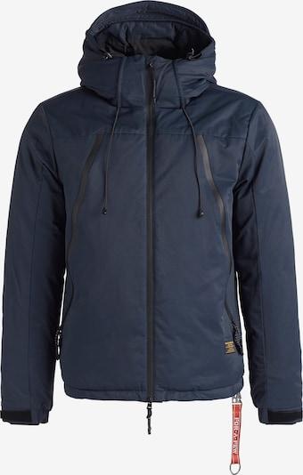 khujo Winterjas ' BENJAMIN ' in de kleur Blauw, Productweergave