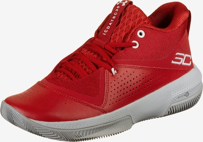 UNDER ARMOUR Basketballschuh 'SC 3Zero IV' in rot / weiß, Produktansicht