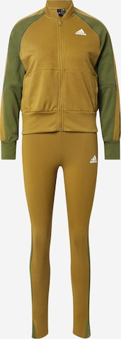 ADIDAS PERFORMANCE Tracksuit in Green