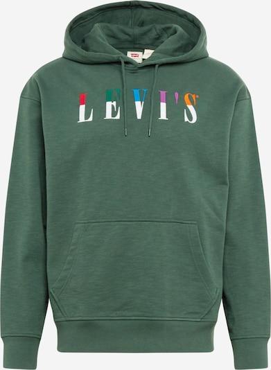 LEVI'S Sweatshirt in himmelblau / dunkelgrün / lila / cranberry / weiß, Produktansicht