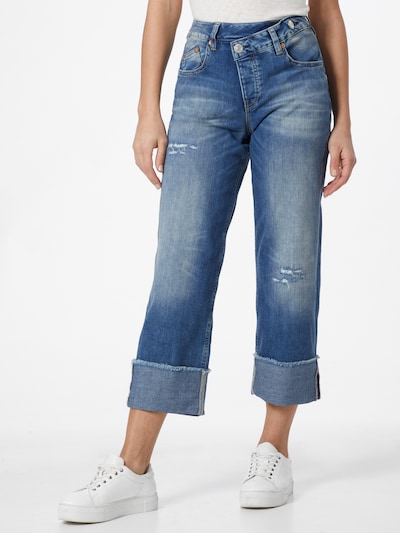 Herrlicher Jeans 'Maze' in Blue denim, View model