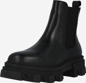 BULLBOXER Chelsea Boots in Black