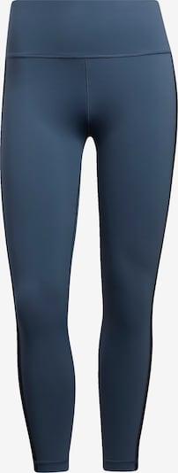 ADIDAS PERFORMANCE Pantalon de sport en bleu-gris / noir, Vue avec produit