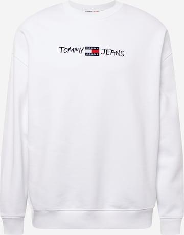 Tommy Jeans Sweatshirt in Weiß