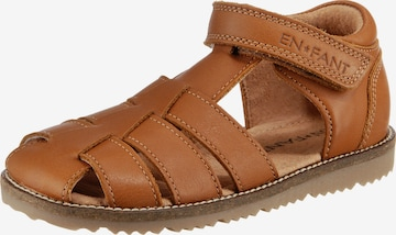 EN FANT Sandale in Braun