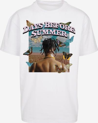 homok / kék / világoslila / vegyes színek / fehér Mister Tee Póló 'Days Before Summer', Termék nézet